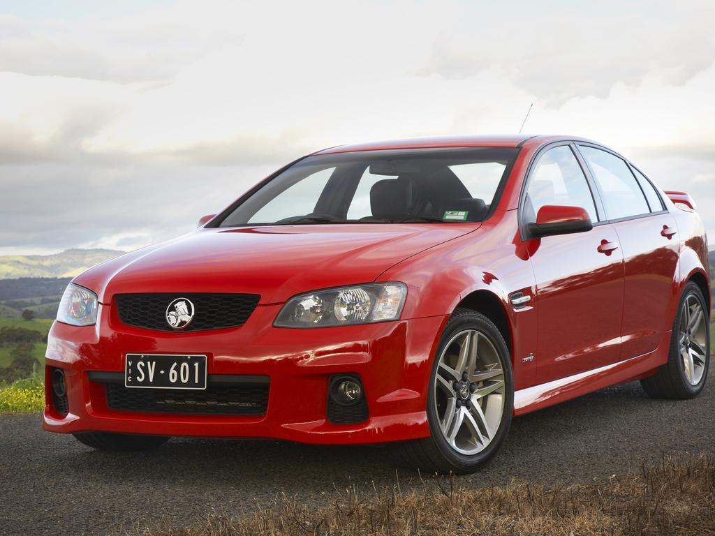 The 2011 Holden Commodore VE Series II SV6 Sedan.
