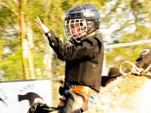 Father, son in action at Gympie rodeo this Saturday