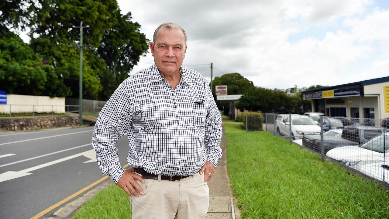 FRUSTRATED: Peter Boyce is taking a stand against council's land acquisition policy he says is ripping people off. Photo Patrick Woods / Sunshine Coast Daily.