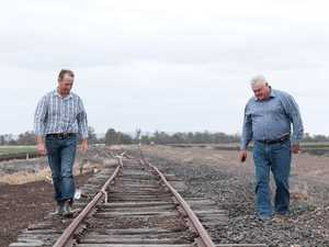 Landholders rally in Brisbane against Inland Rail project