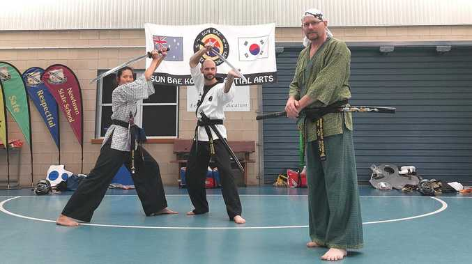 Sharpen skills with Korean sword fighting classes