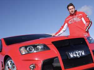 Holden legend 'battling to hold back tears'