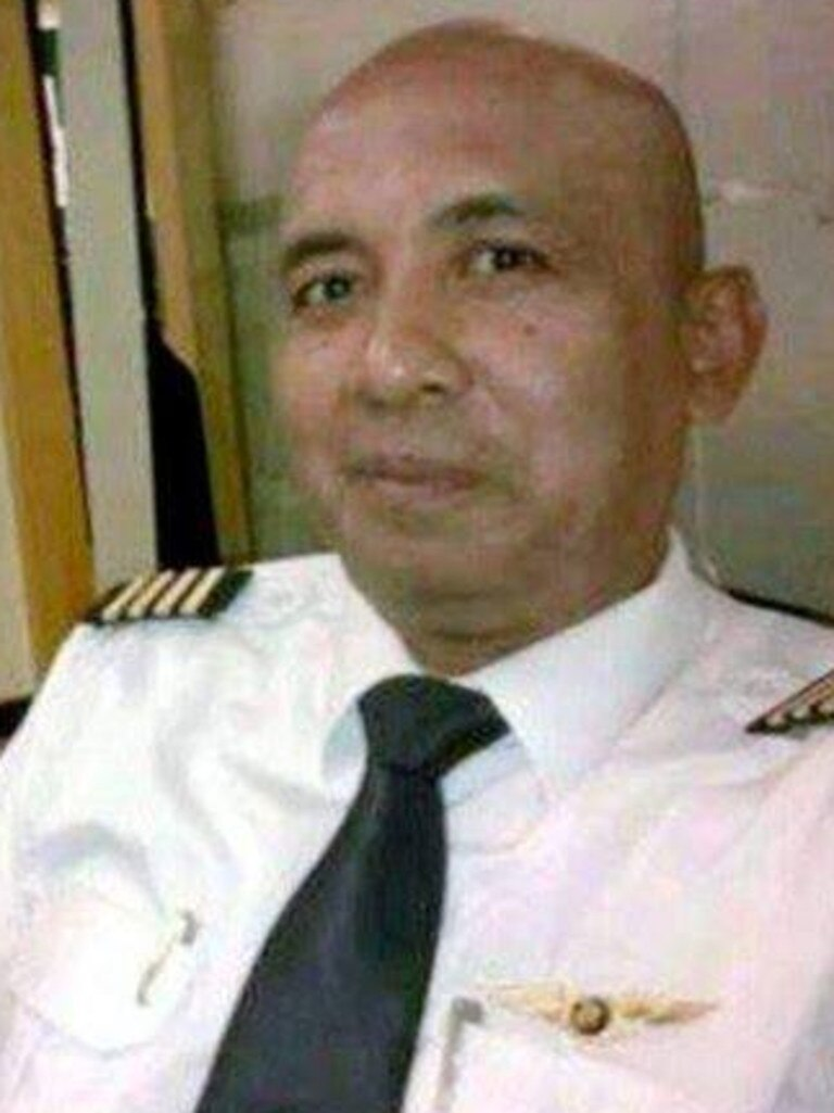 Malaysian Airlines Captain Zaharie Shah. File picture