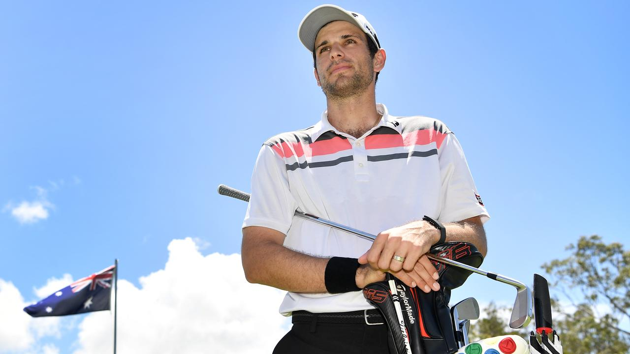READY: Defending Qld Open champion Jordan Zunic is eager to go back-to-back when teeing off at Pelican Waters Golf Club this week.   Picture: Patrick Woods