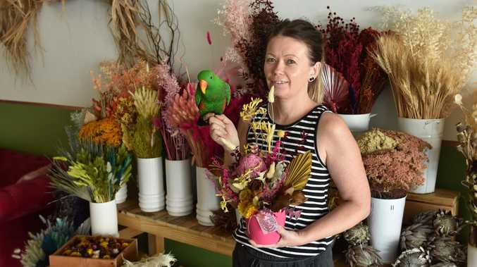 Business blooming for unique floral store
