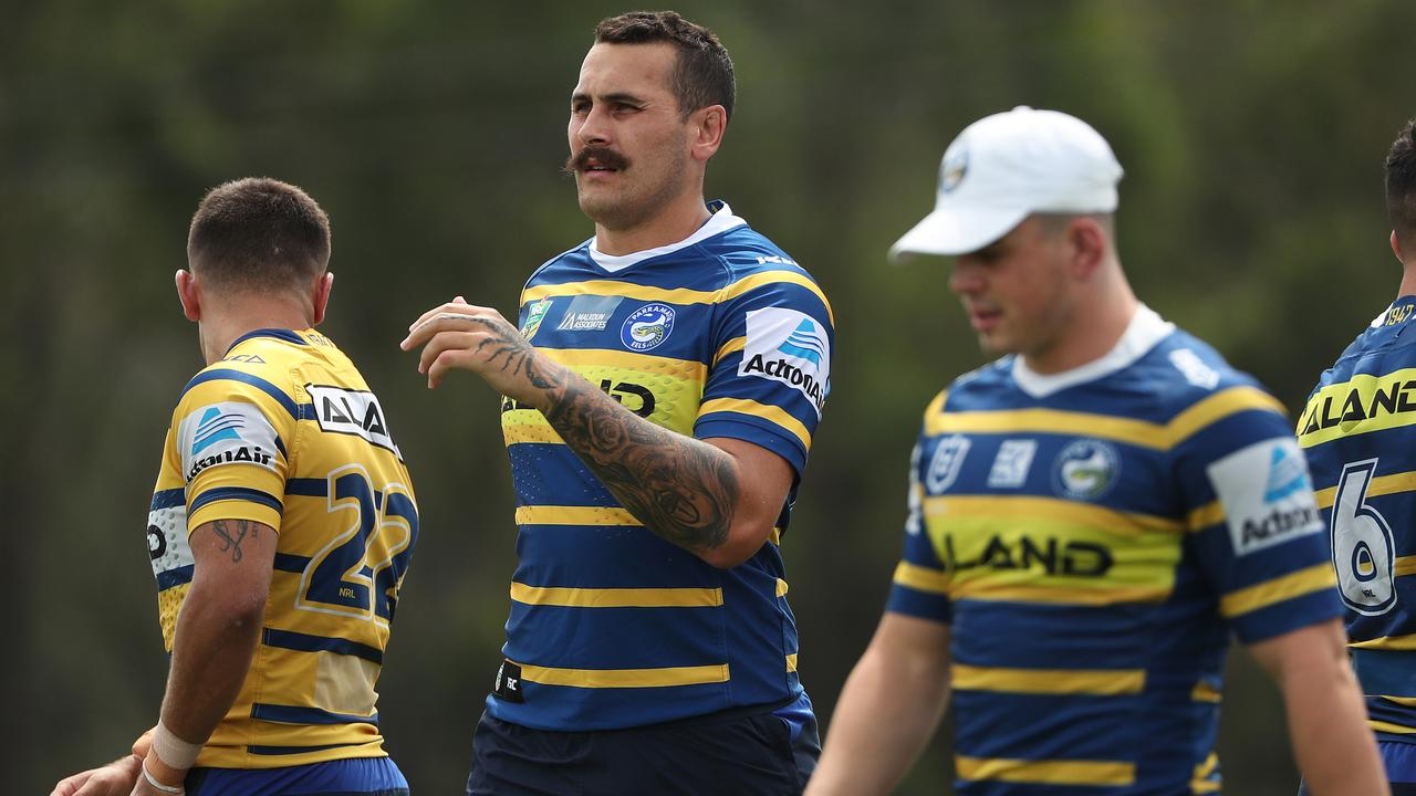 Reagan Campbell-Gillard could make his Parramatta debut. Photo: Brett Costello