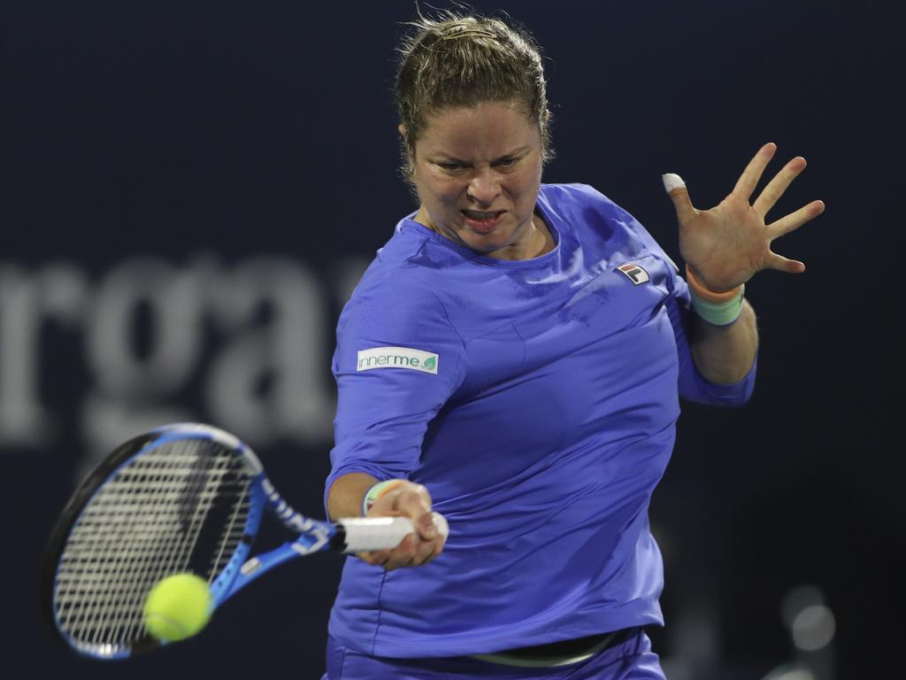 Kim Clijsters is back. Picture: Kamran Jebreili/AP