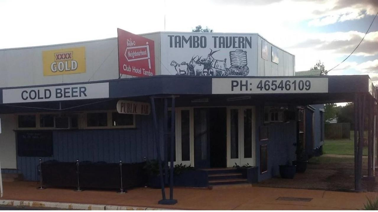 Tambo Tavern is up for sale.