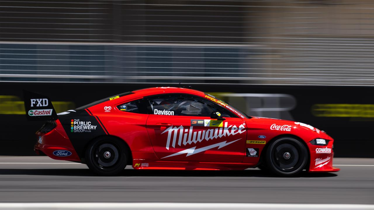Will Davison drives the #23 Milwaukee Racing Ford Mustang. Picture: Daniel Kalisz/Getty