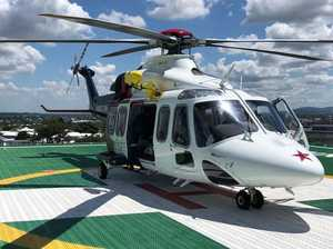 LifeFlight rescues man injuried in roo strike