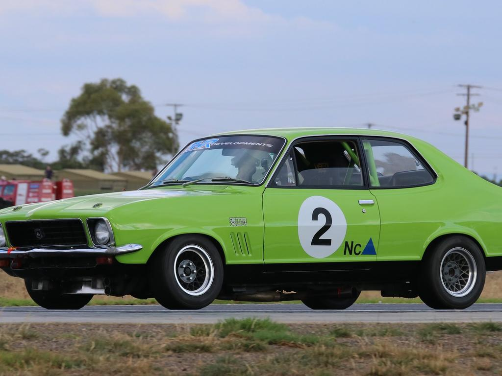 The Holden Torana became a legend on Australian race tracks.