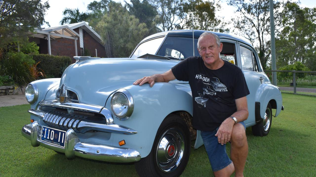 Mal Jocumsen and his 1956 FJ Holden.