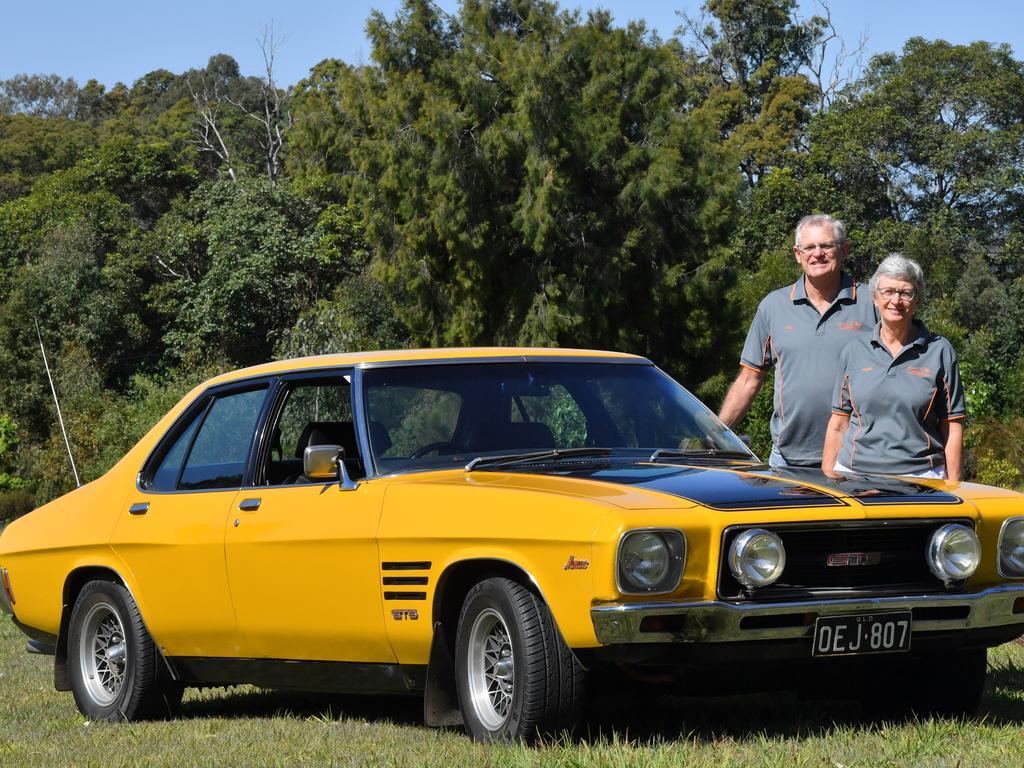 1973 HQ Holden Monaro owned by Bill and Karen Ryan. Picture: John McCutcheon