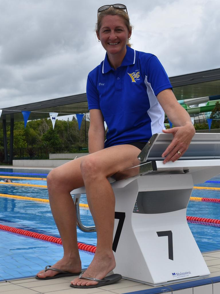 Gympie Gold Fins president Dee White.