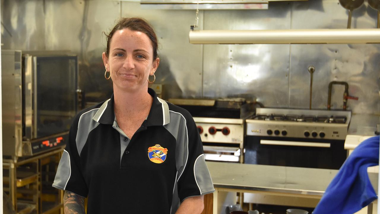 Gladstone Bowls Club Inc events and functions manager Fallon Gudgeon is excited about the new Catalina Bar and Grill, February 13, 2020
