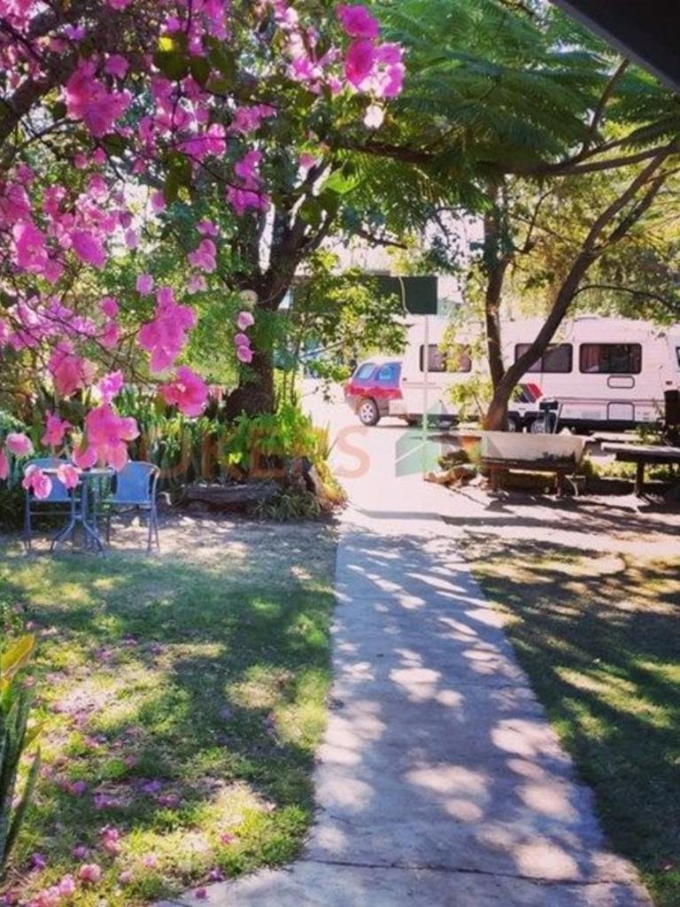 The Blackall Caravan Park is up for sale.