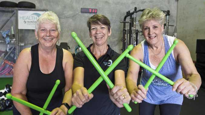 Drumming up fitness with new exercise class