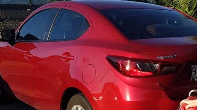 UPDATE: Suspected paint job on stolen car