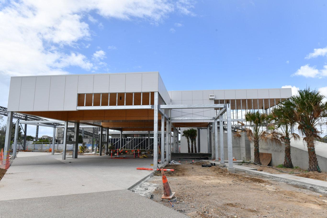 GPC east shores construction update