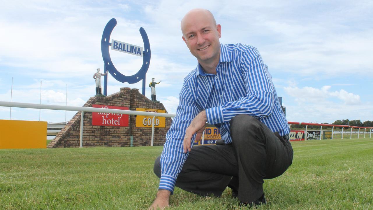 Ballina Jockey Club general manager Matthew Bertram. Photo file.