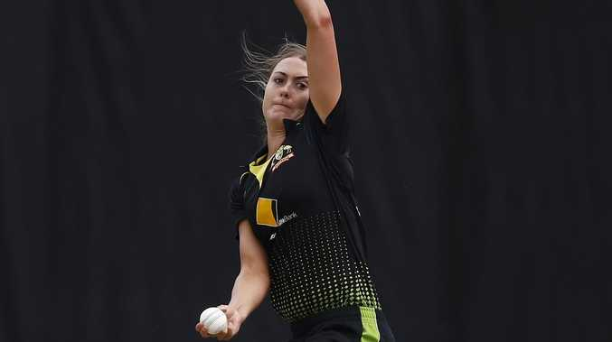 The Aussie bowler tipped to become the quickest of all time