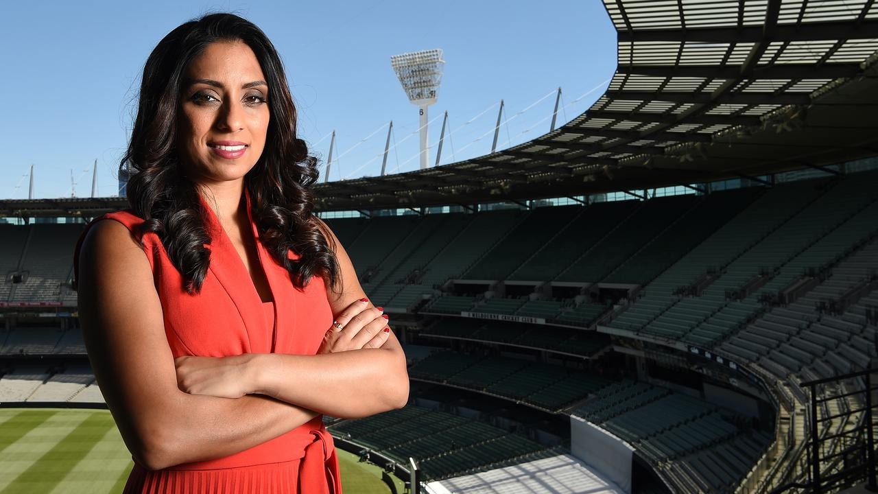 Isa Guha will be one of the key figures in Fox Cricket's World Cup coverage. Picture: Nicole Garmston
