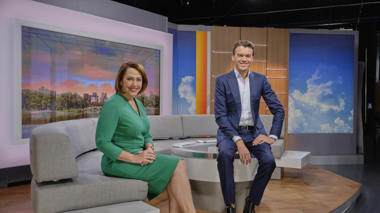 Lisa Millar and Michael Rowland from ABC News Breakfast