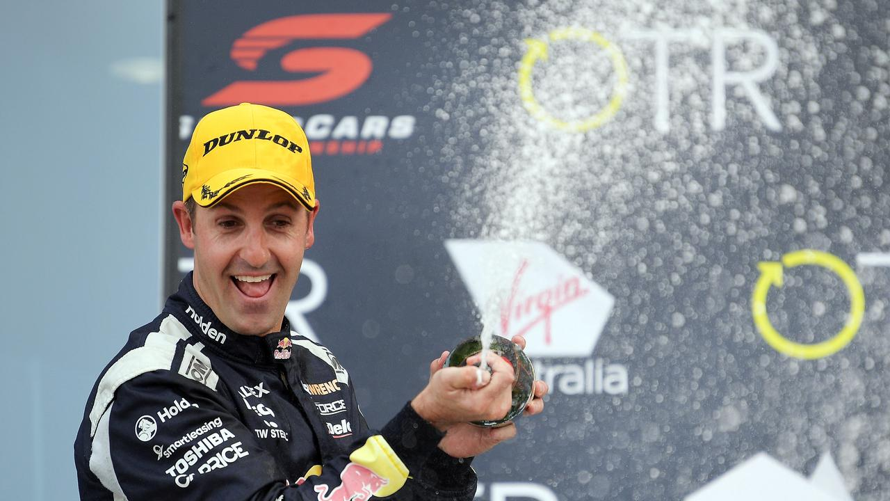 Jamie Whincup is the last drive to have won three titles on the trot. Picture: Getty