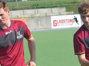 STUDY AND SPORT: No problem for hockey duo