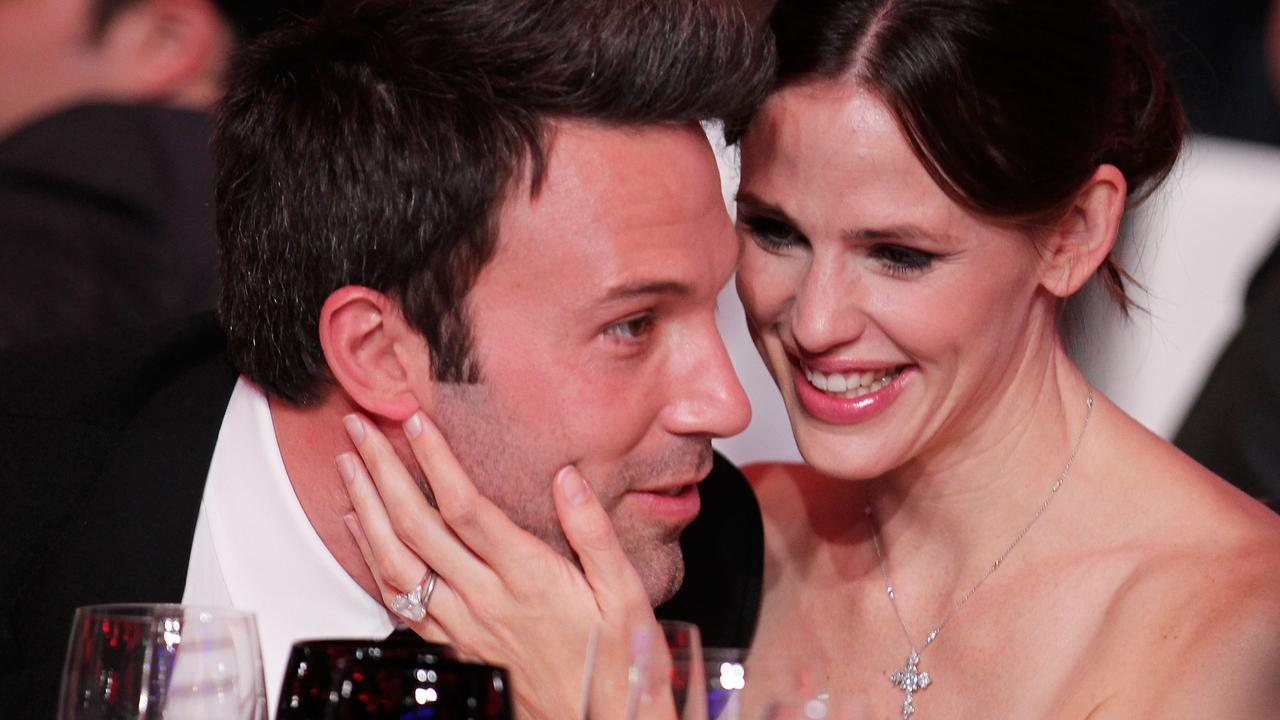 Ben Affleck and Jennifer Garner in 2011. Picture: Christopher Polk/Getty Images for VH1