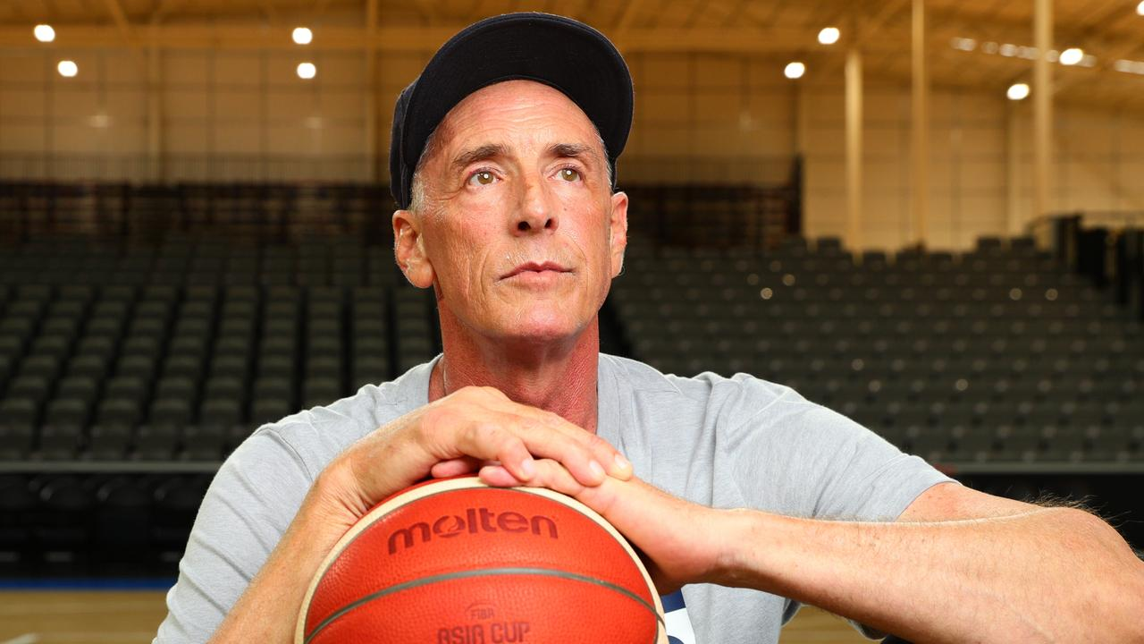Brisbane Bullets legend Robert Sibley is battling cancer. Picture: Lachie Millard