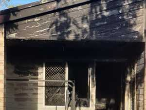 Unknown hero pulls toddler from burning house