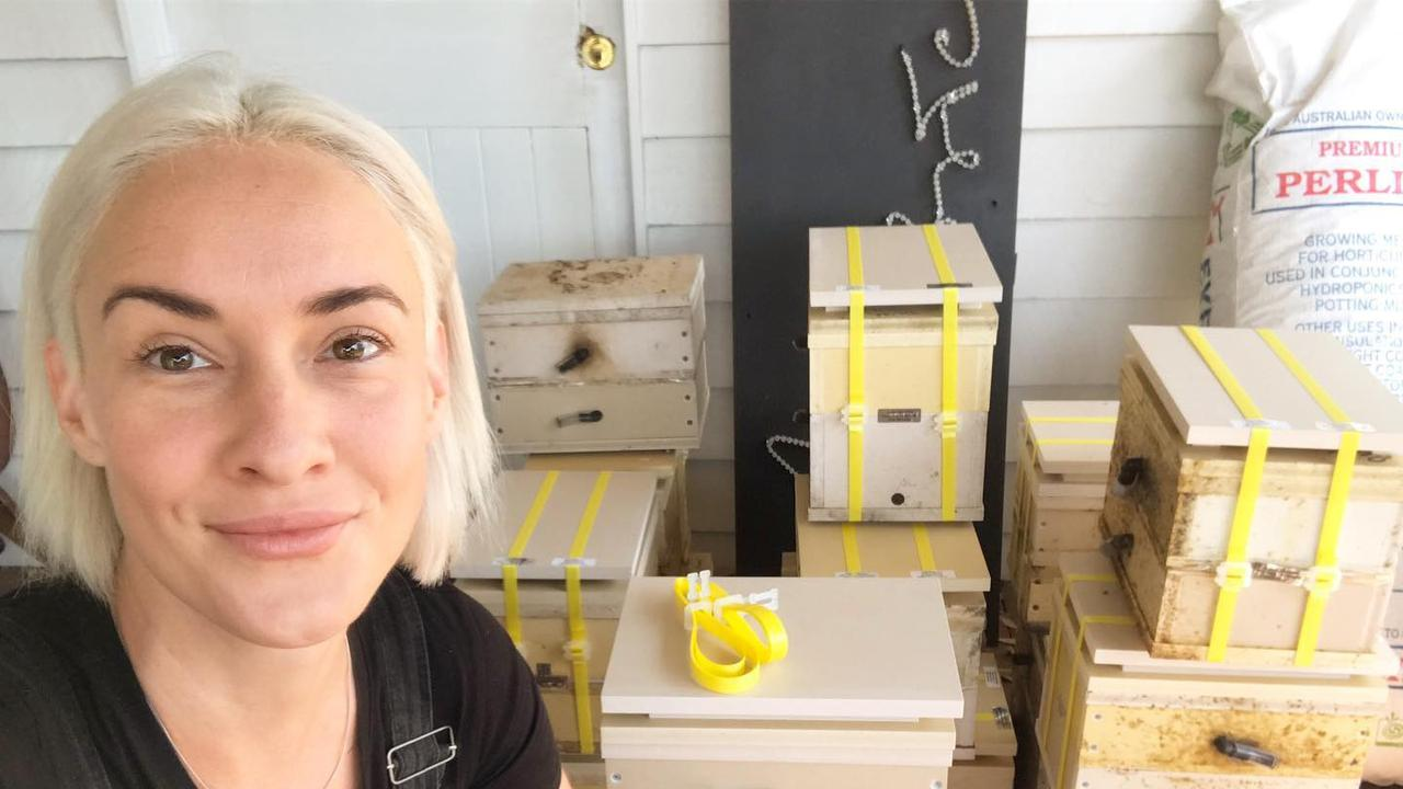 BEE HAPPY: Sarah Hamilton is encouraging bee hive owners in Bundaberg to deliver bee therapy programs.