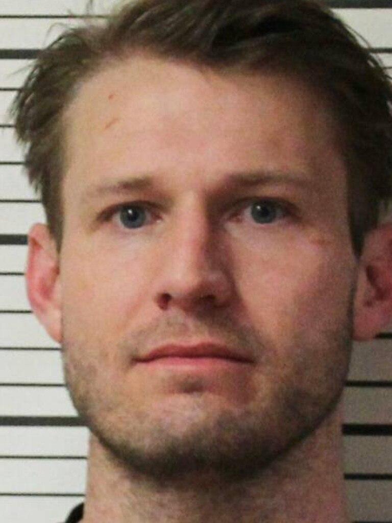 Brian Hickerson's mugshot. Picture: Teton County Sheriff