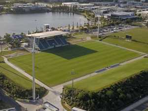 Lighting upgrade nears completion at Sunshine Coast Stadium