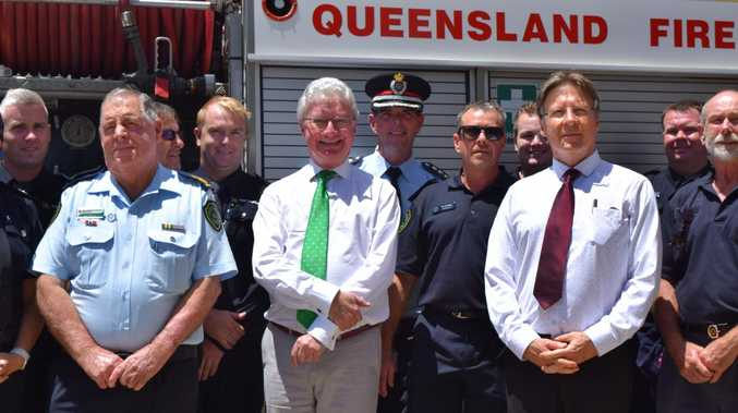 Governor praises firies and community during Noosa visit