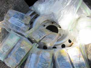 BUST: $2m in drugs, $200k cash found in spare tyre
