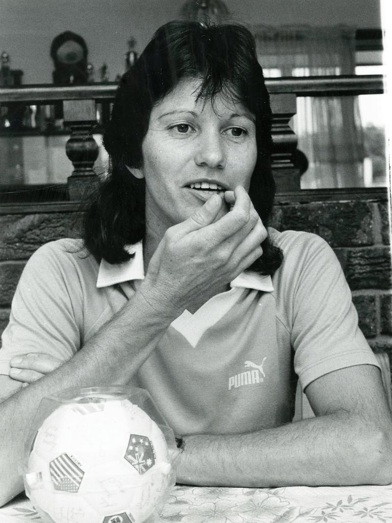 Former Coalstars and Australian footballer Michelle Sawyers. Picture: QT file