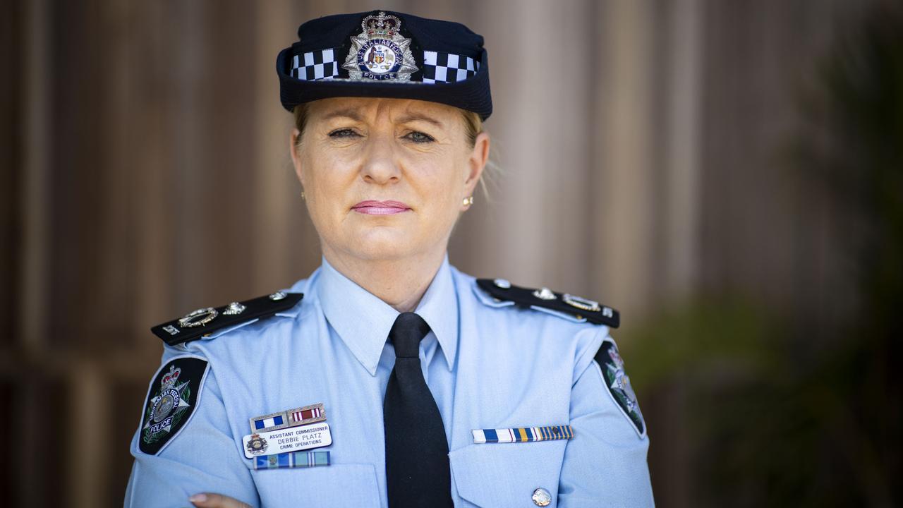 Australian Federal Police Assistant Commissioner Debbie Platz will speak at the Australia Zoo International Women's Day Champagne Brunch. Picture: Glenn Hunt / The Australian