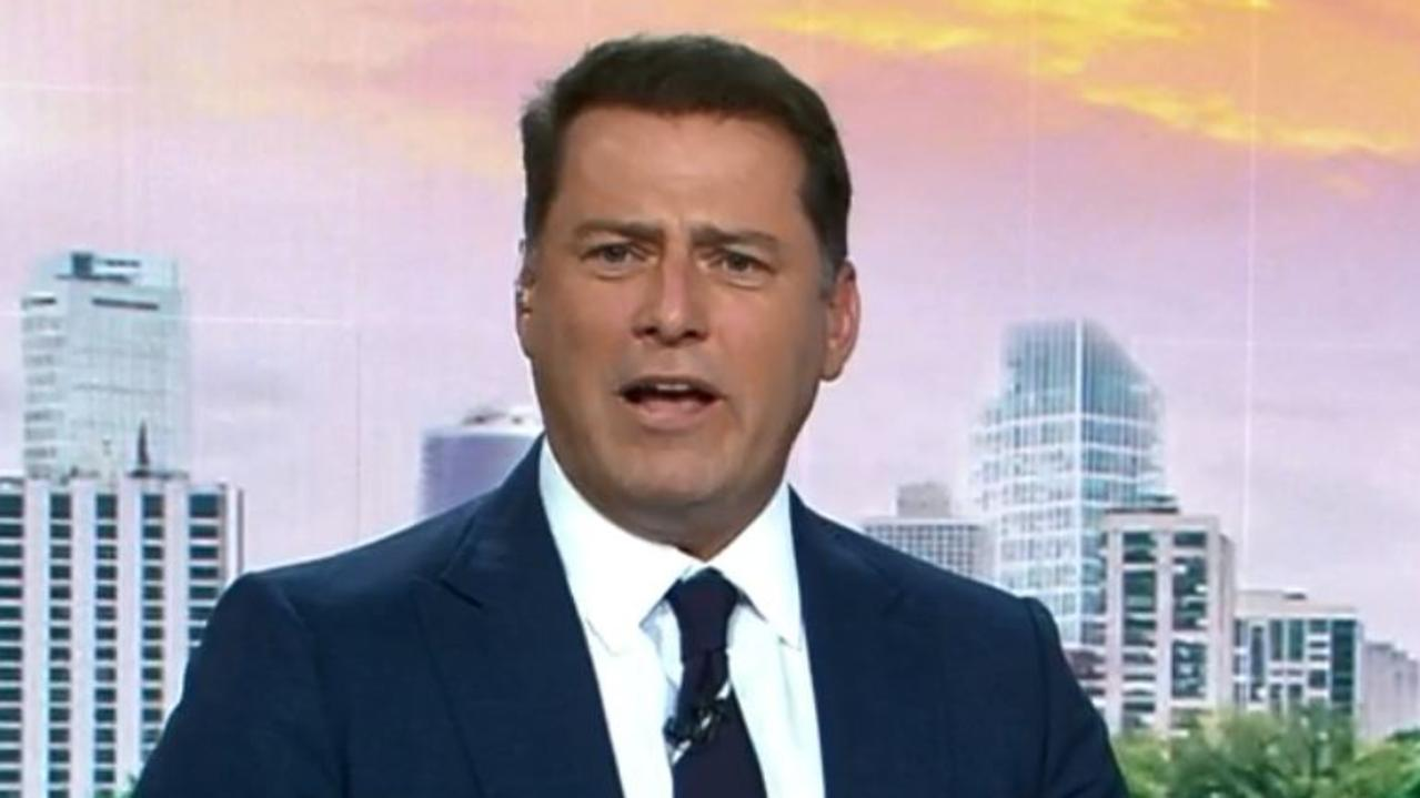 Today has suffered its lowest TV ratings for 2020, despite the return of Nine's golden boy Karl Stefanovic. Picture: Channel 9