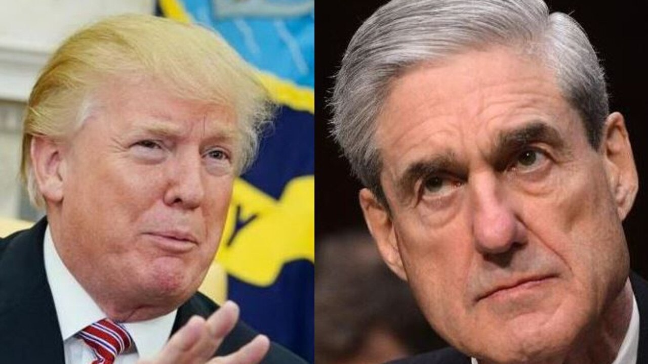 Donald Trump and Robert Mueller. Picture: Supplied