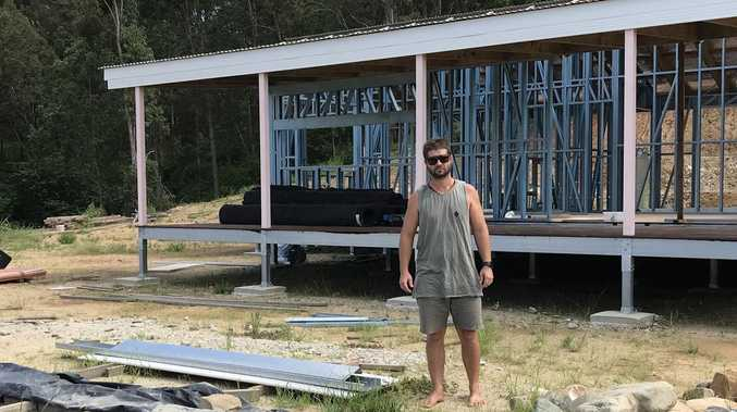 Gargett couple's dream home dashed after builder goes bust