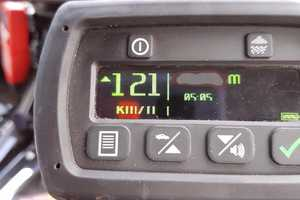Traffic and Highway Patrol Command NSW Police fined a truck driver for speeding.