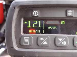 $1155 fine for speeding truck driver
