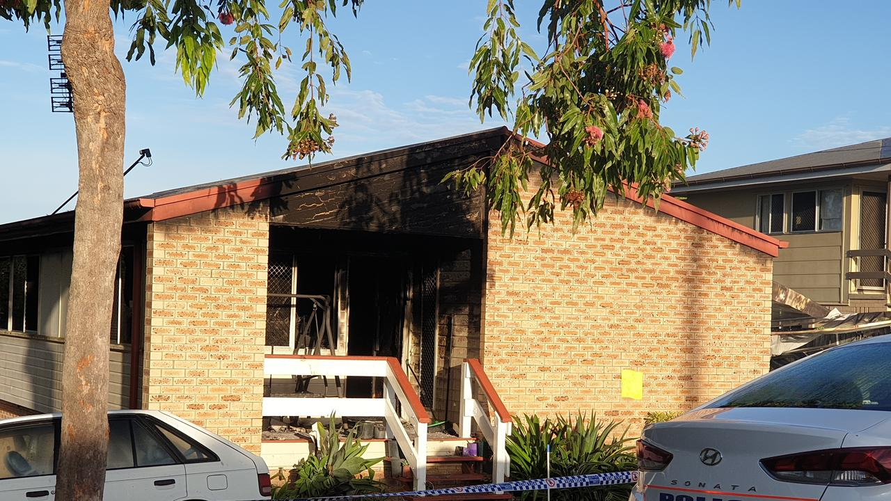 Inside the house was significantly damaged, Gympie fire station officer Adrian Bond said. Photo: Frances Klein