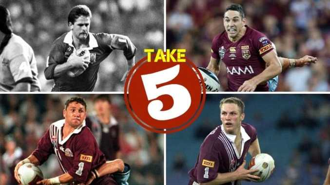 The five best Maroons fullbacks in history