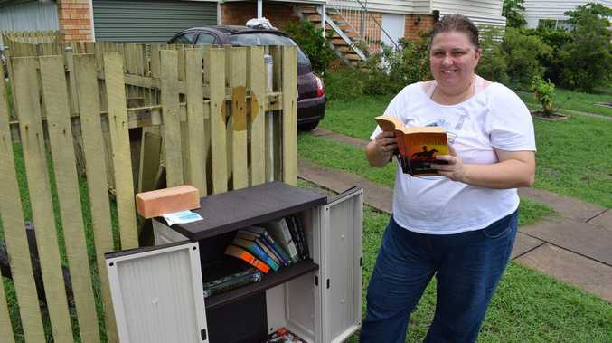Neighbourly gesture combats rising crime rates