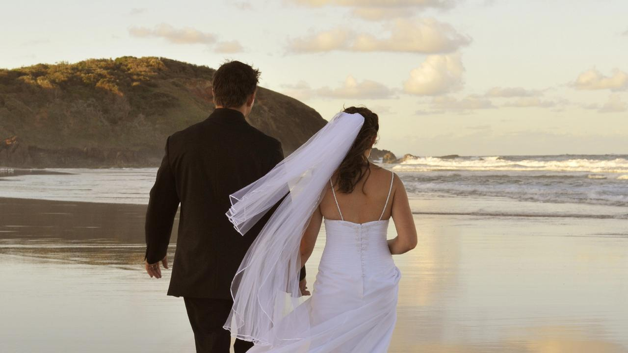 DESTINATION WEDDINGS: Coastal areas of the Northern Rivers remain the most popular places to get married, according to NSW Registry of Births, Deaths and Marriages data. Photo: Supplied