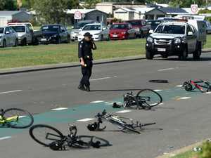 Man 'went home to sleep' after cyclists mowed down