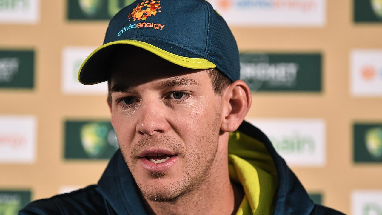 Tim Paine says his Australian players are going to cop far worse than England in South Africa. Picture: AAP Image/James Gourley